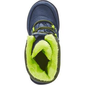 Kamik Stance Buty Dzieci, navy lime-marine citron vert